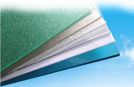 Tấm lợp lấy sáng thông minh polycarbonate đặc ruột dày 3mm ảnh 1