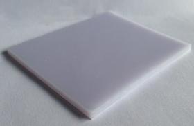 Tấm lợp lấy sáng thông minh polycarbonate đặc ruột trắng sữa white