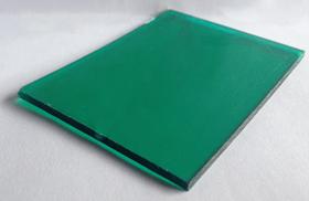 Tấm lợp lấy sáng thông minh polycarbonate đặc ruột xanh lá green